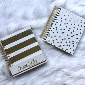 Teresa Collins White & Gold Planner - 2 styles!